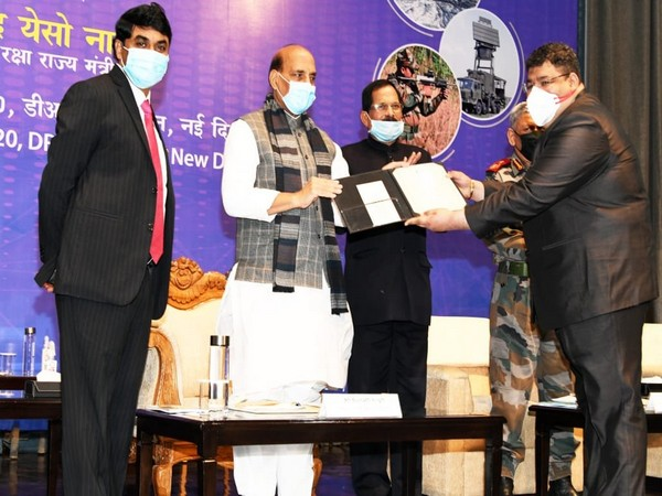Amit Sharma, Cyber Advisor at Defence Research and Development Organisation on Friday was honoured with the Agni Award for Self Reliance by Defence Minister Rajnath Singh.