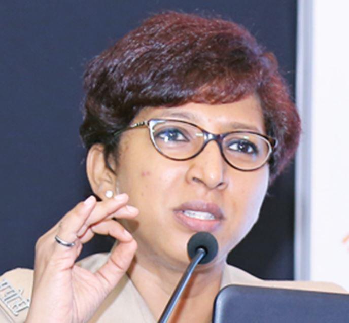 Dr. Rashmi Karandikar, cyber police DCP, Mumbai Police