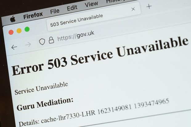 Social Media, Government Portals And News Websites Hit By Major Internet Outage