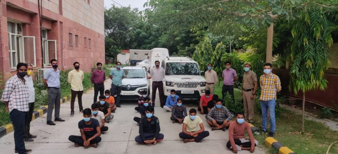 Cyber Prahar 2.0 : Massive Crackdown By Delhi's CyPAD In Jharkhand's Cyber Crime Hotbed, 14 Scammers Arrested
