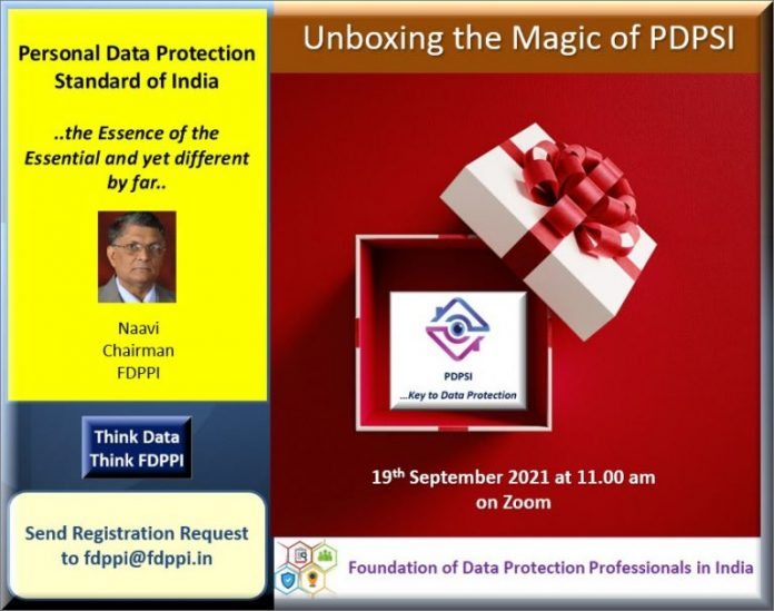 Join The Free Webinar To Unbox The Magic Of Personal Data Protection Act of India